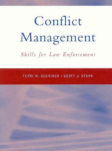 9780130930743: Conflict Management Skills for Law Enforcement