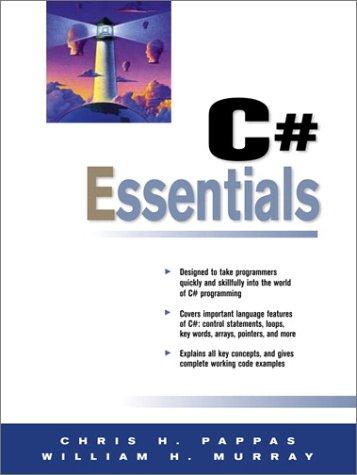 9780130932853: C# Essentials (Essentials (Prentice Hall))