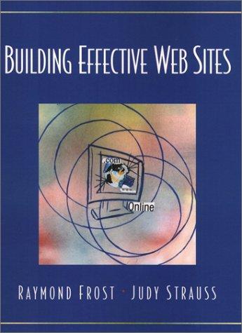 9780130932884: Building Effective Web Sites