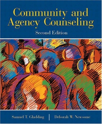 9780130933126: Community and Agency Counseling (2nd Edition)