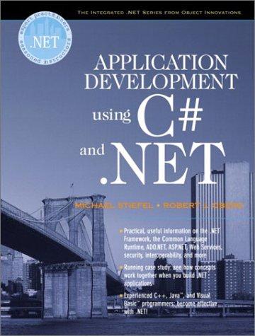9780130933836: Application Development Using C# and .NET (Oberg .Net)