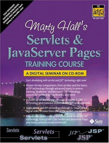 9780130934000: Marty Hall's Servlets and JavaServer Pages Training Course (Complete Video Courses)