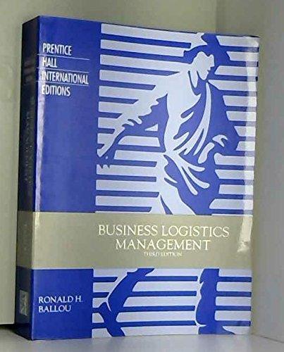 9780130934109: Business Logistics Management