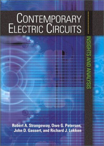 9780130934260: Contemporary Electric Circuits: Insights and Analysis