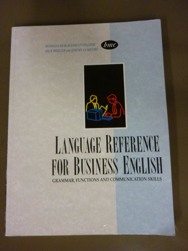 9780130934284: Language Reference for Business English: Business Management English