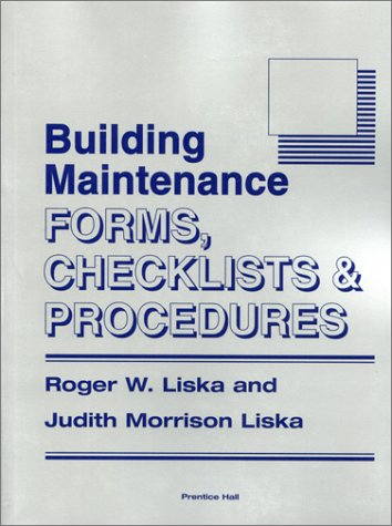 9780130935786: Building Maintenance Forms, Checklists and Procedures