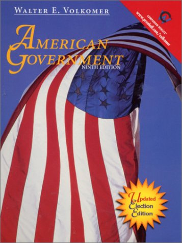 9780130936035: American Government: Updated Election Edition (Election Reprint) (9th Edition)