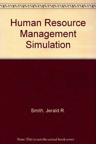 9780130936509: Human Resource Management Simulation-Revised