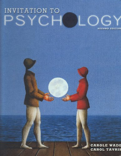 9780130936561: Invitation to Psychology