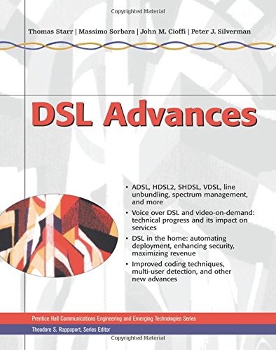 9780130938107: DSL Advances (Prentice Hall Communications Engineering and Emerging Techno)