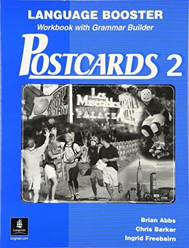 9780130939029: Postcards 2: Language Booster, Workbook with Grammar Builder