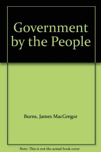 9780130939203: Government by the People