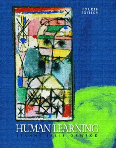 9780130941992: Human Learning