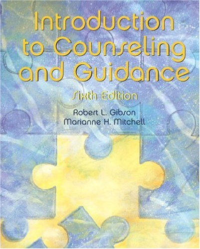 9780130942012: Introduction to Counseling and Guidance (6th Edition)