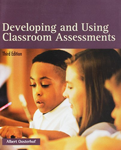 9780130942043: Developing and Using Classroom Assessments (3rd Edition)
