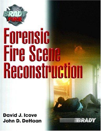 9780130942050: Forensic Fire Scene Reconstruction (Brady Fire)