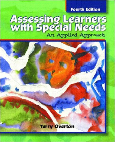 9780130943095: Assessing Learners with Special Needs: An Applied Approach (4th Edition)