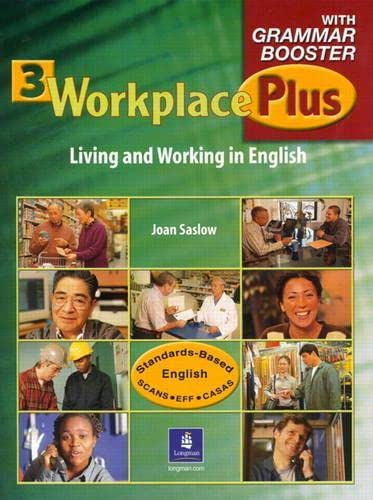9780130943316: Workplace Plus 3 with Grammar Booster Audiocassettes (3) (Workplace Plus: Level 3)