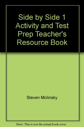 9780130944962: Side by Side 1 Activity and Test Prep Teacher's Resource Book