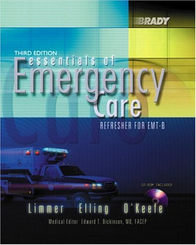 9780130945594: Essentials of Emergency Care: Refresher for EMT-B (3rd Edition)