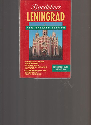 9780130947154: Baedeker Leningrad/Includes Map (Baedeker's City Guides)