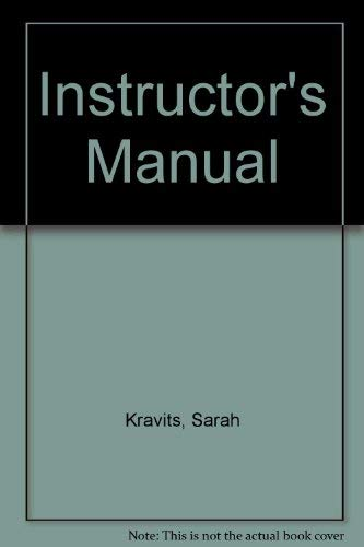 9780130947673: Instructor's Manual