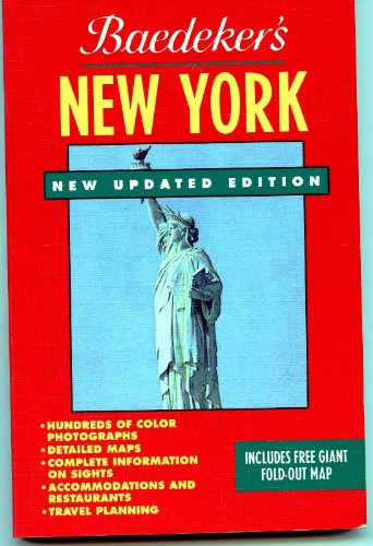 9780130947802: Baedeker New York/Includes Map (Baedeker's Travel Guides)