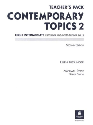 9780130948502: Contemporary Topics Teacher's Pack: High Intermediate Listening and Note-Taking Skills