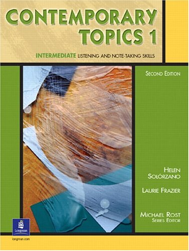 9780130948533: Contemporary Topics 1, Second Edition (Student Book)