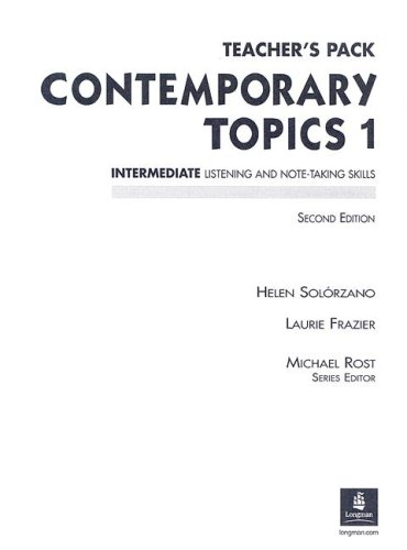 9780130948540: Contemporary Topics 1: Teacher's Pack