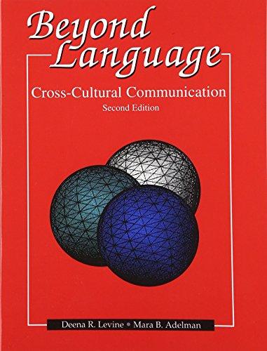 9780130948557: Beyond Language: Cross Cultural Communication