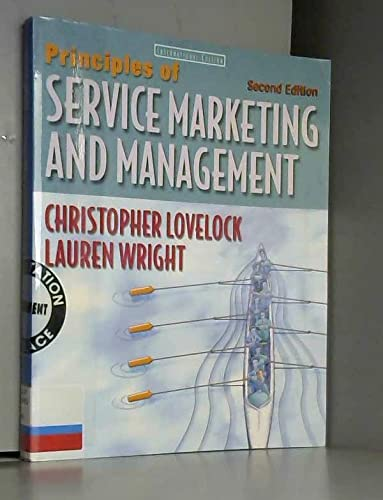 9780130950123: Principles of Service Marketing and Management: International Edition