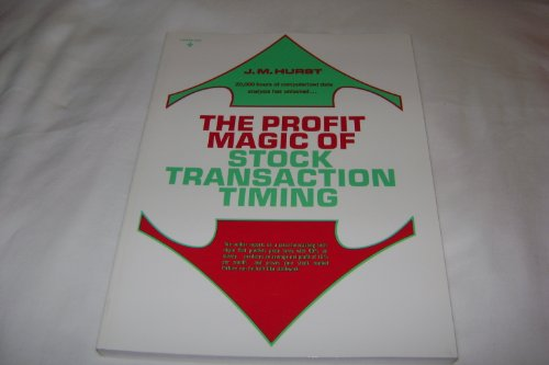 9780130950758: Profit Magic Stock Transaction Timing Cust