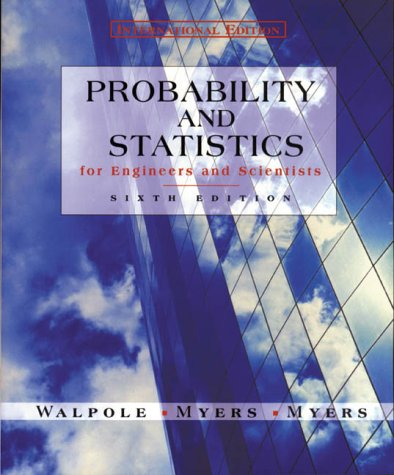 9780130952462: Probability and Statistics for Engineers and Scientists