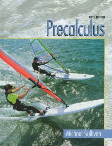9780130954022: Precalculus (5th Edition)