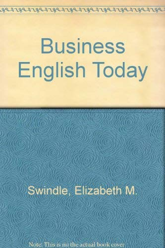 9780130954312: Business English Today