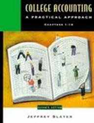 9780130954893: College Accounting: A Practical Approach, Chapters 1-10 (7th Edition)
