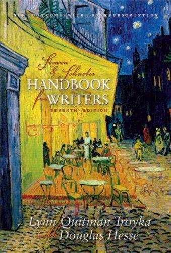 9780130955128: Sm S&s Handbook Writers A/I/E