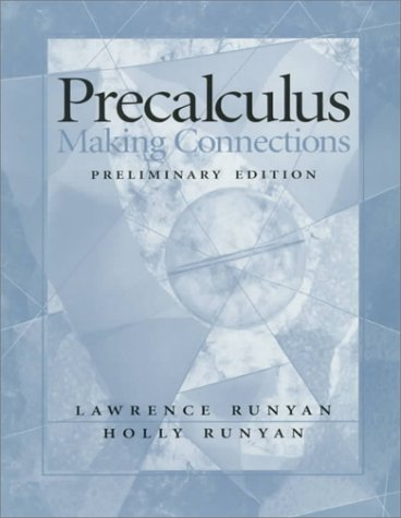 9780130956743: Precalculus: Making Connections