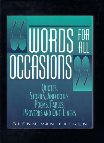 9780130956828: Words for All Occasions