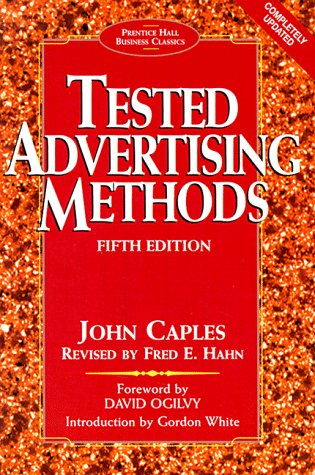 9780130957016: Tested Advertising Methods