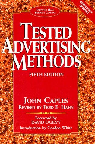 9780130957016: Tested Advertising Methods