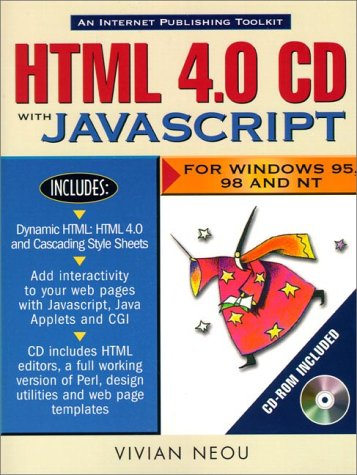 9780130957832: HTML 4.0 CD with JavaScript