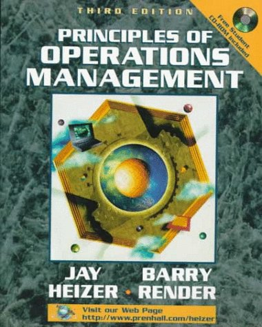 9780130958082: Principles of Operations Management