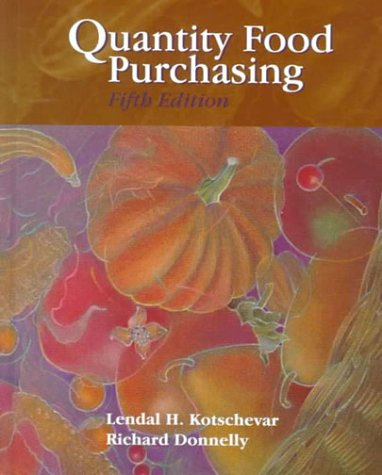 9780130958815: Quantity Food Purchasing (5th Edition)