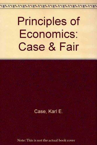 9780130958860: Principles of Economics (Case & Fair)