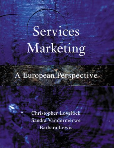 9780130959911: Services Marketing European Perspectives