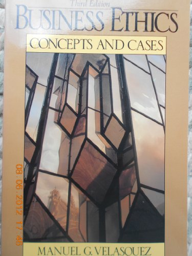 9780130960252: Business Ethics: Concepts and Cases