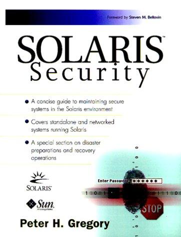 9780130960535: Solaris Security