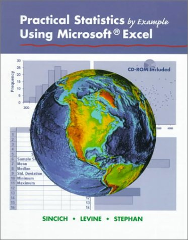 9780130960832: Practical Statistics by Example Using Microsoft Excel